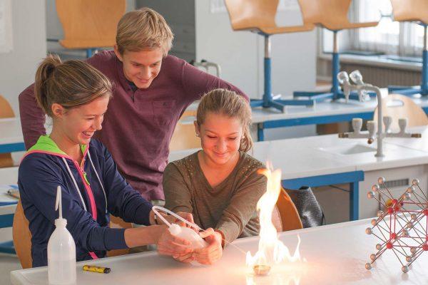 Versuche im Realgymnasium | Reithmanngymnasium
