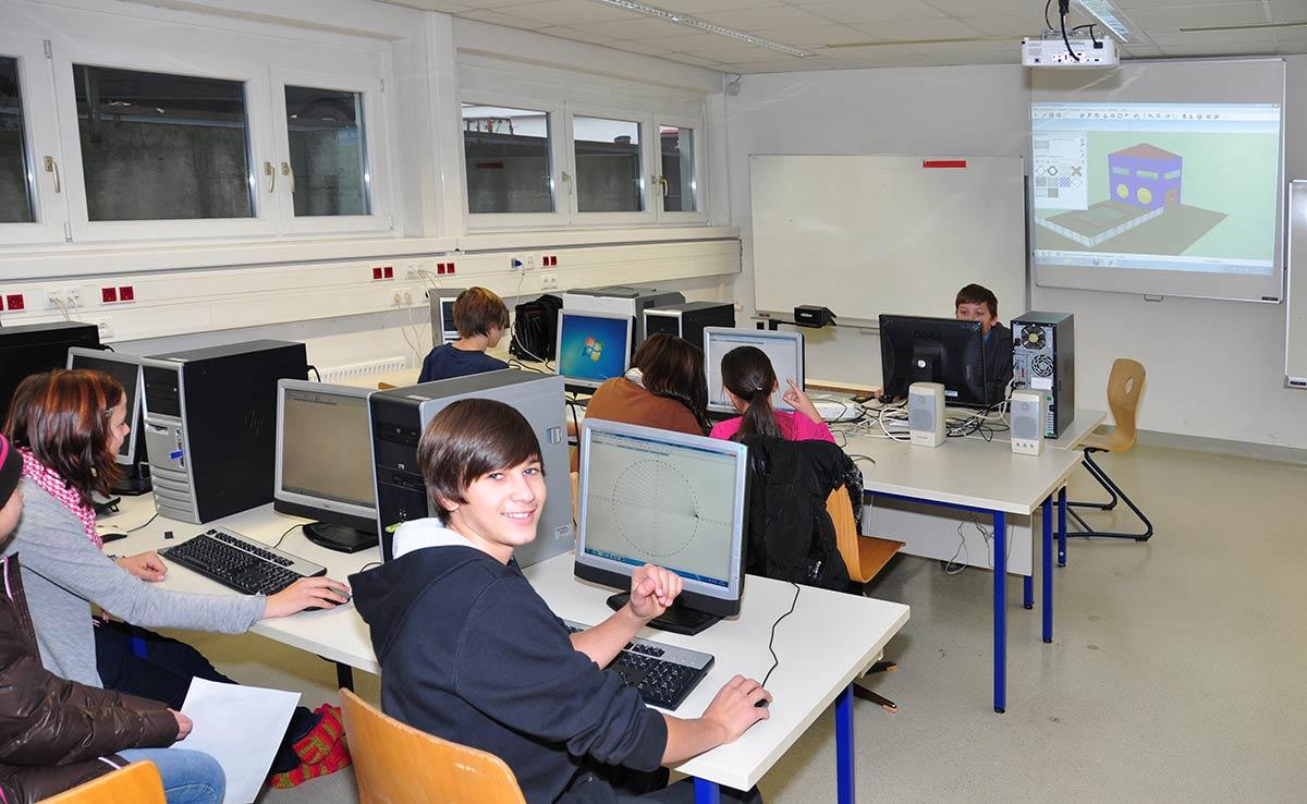Informatikraum | Reithmanngymnasium