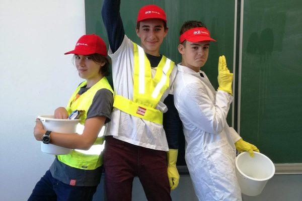 Gesundheitsteam, Müllsheriffs | Reithmanngymnasium