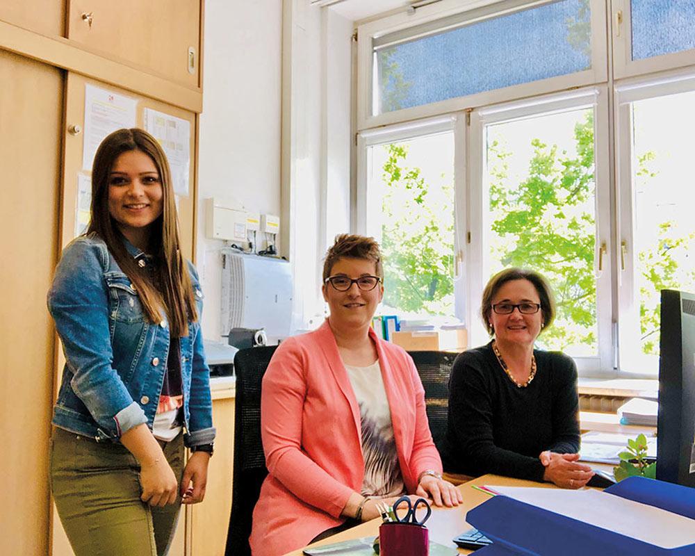 Sekretärinnen | Reithmanngymnasium