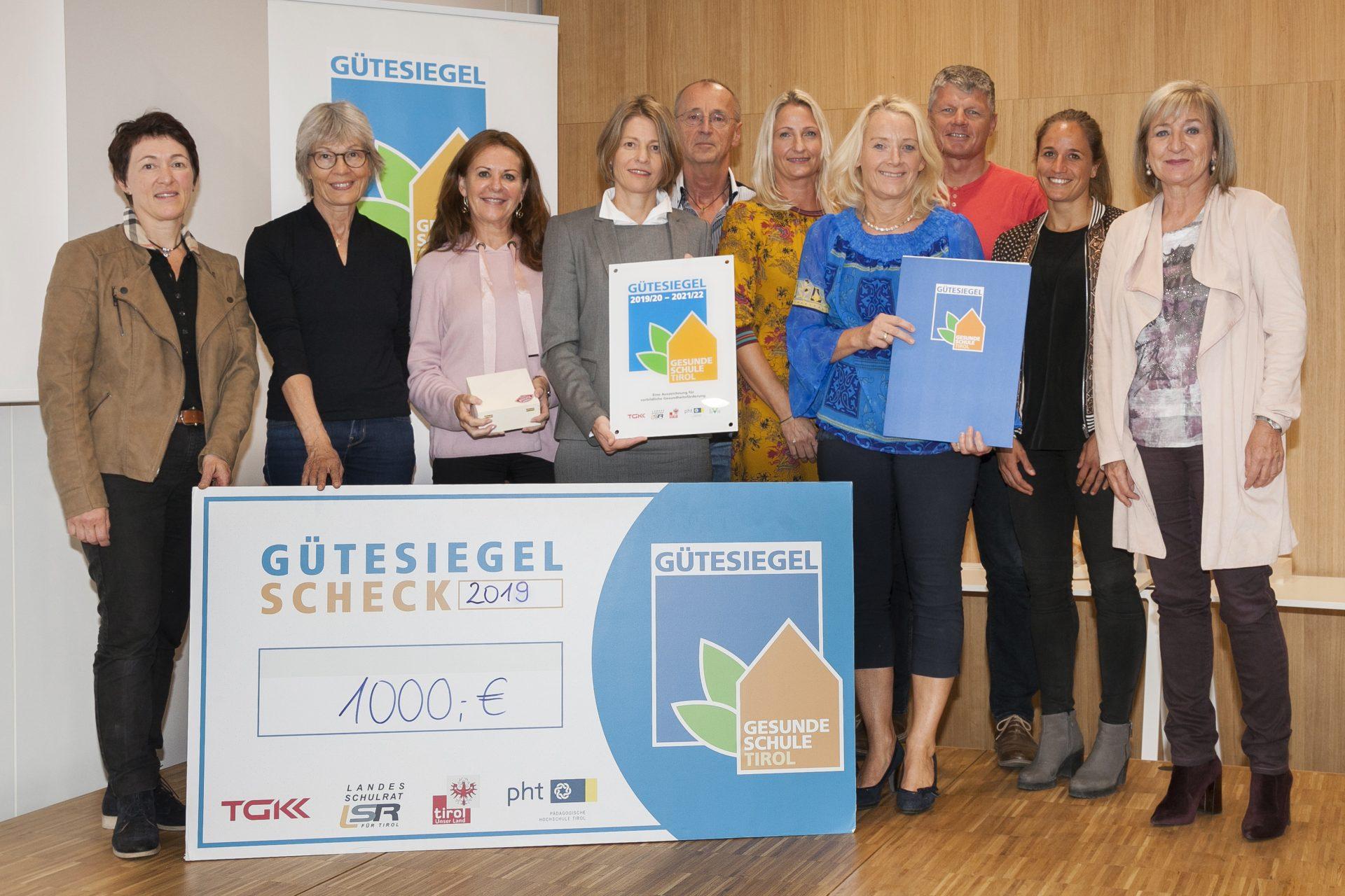 Verleihung GGütesiegel Gesunde Schule 2019_reithmanngymnasium