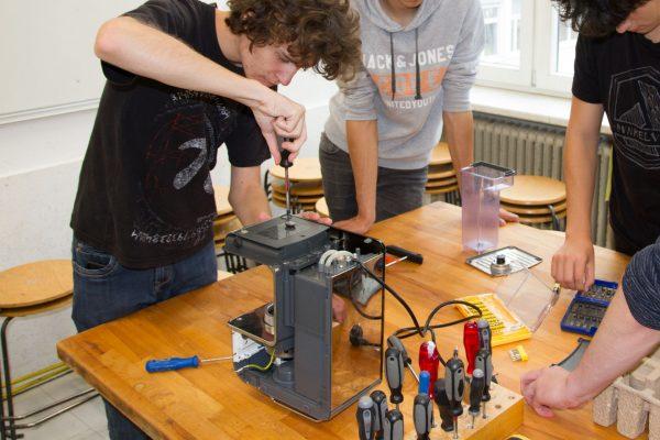 Repair Cafe - Kaffeemaschine 1 | Reithmanngymnasium