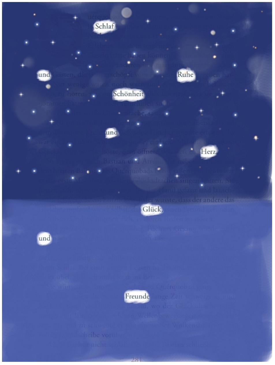Blackout Poem, Vanessa-Maria Pavic, 5C, 2020 | Reithmanngymnasium