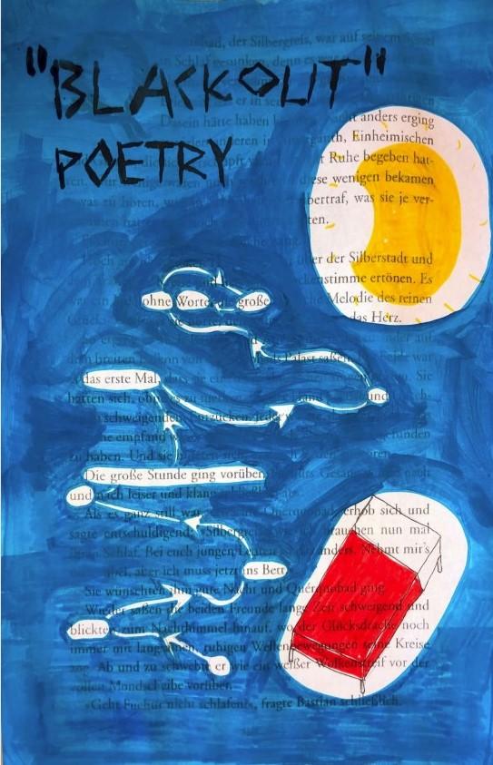Blackout Poem, Simon, 6C, 2020 | Reithmanngymnasium